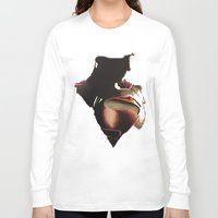 man of steel Long Sleeve T-shirts featuring Man of steel by BTailor