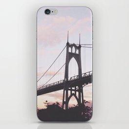 St. John's Bridge  iPhone Skin