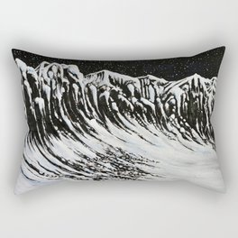 Starlit Cliffs Rectangular Pillow