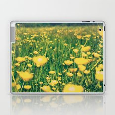 Field of yellow Laptop & iPad Skin