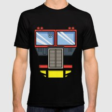 Transformers - Optimus Prime Mens Fitted Tee LARGE Black