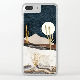 Desert View Clear iPhone Case