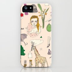 paper doll iPhone (5, 5s) Slim Case