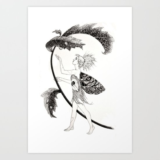 Tink of Neverland Art Print