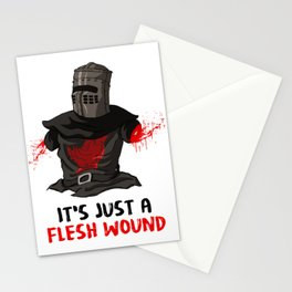 It's just a flesh wound Stationery Cards