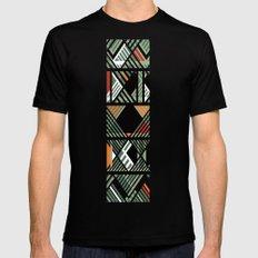 CHOMBO 4 mix Black Mens Fitted Tee MEDIUM