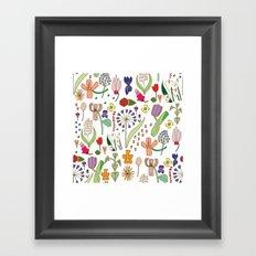 We belong among the wildflowers. Framed Art Print