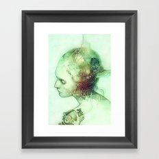 Weld Framed Art Print