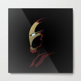 Iron man portrait Metal Print