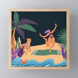 Help ! ! Framed Mini Art Print