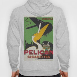 PELICAN CIGARETTES FRANCE VINTAGE POSTER Hoody