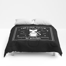 Fortune Teller Psychic Cat Comforters