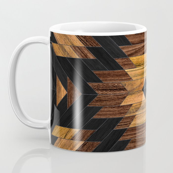 Urban Tribal Pattern No.7 - Aztec - Wood Coffee Mug