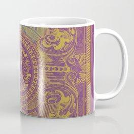 Medalion Purple Coffee Mug