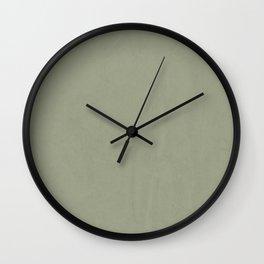 Simply Green Tea Wall Clock