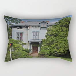 Old West End- The Laskey House Rectangular Pillow