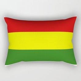 Bolivia flag Rectangular Pillow