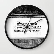 BILLBOARD FANTASIES #5 Wall Clock