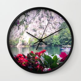 Matka Canyon, Macedonia Wall Clock