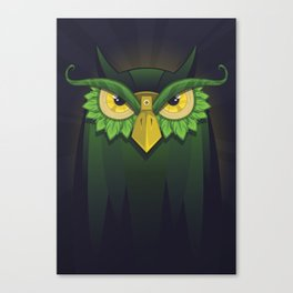 Royal Owl Canvas Print