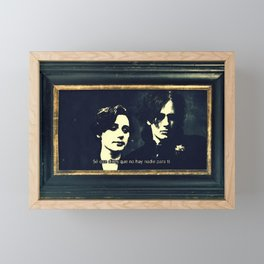 Buckley & Fraser Treasure A Last Goodbye Framed Mini Art Print