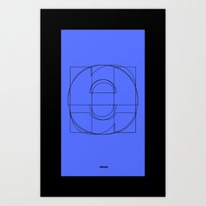 Die Neue Haas Grotesk (C-01) Art Print