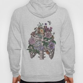 flowering ribs Hoody