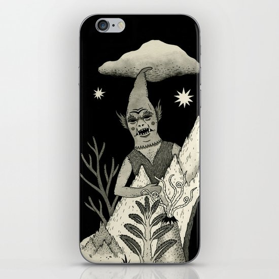 Not Alone iPhone & iPod Skin