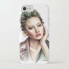 Jennifer Lawrence iPhone 7 Slim Case