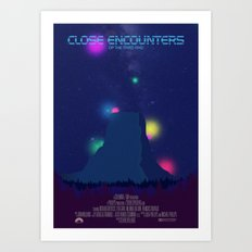 Close Encounters of the Third Kind Art Print
