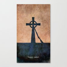EASTER 1916 - Irish | Vector | Abstract | Surrealism | retro | Vintage | Ireland | Dublin Canvas Print