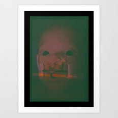 Baby in Hell Art Print