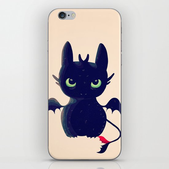Night Fury iPhone & iPod Skin