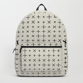 Grid Pattern 006 Backpack