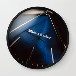 Elegant watch closeup Wall Clock