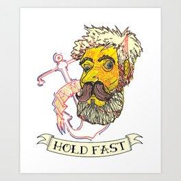 Hold Fast Art Print