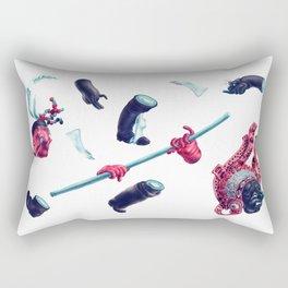 Trickster Wolf Dancer Rectangular Pillow