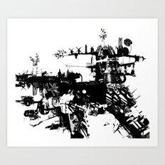 Terri-Airship Art Print