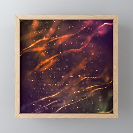 Holiday abstract Framed Mini Art Print