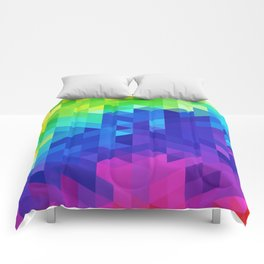 Abstract LGBT Pattern Comforters