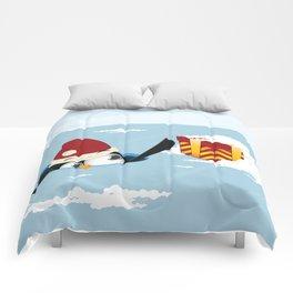 Smart penguin Comforters