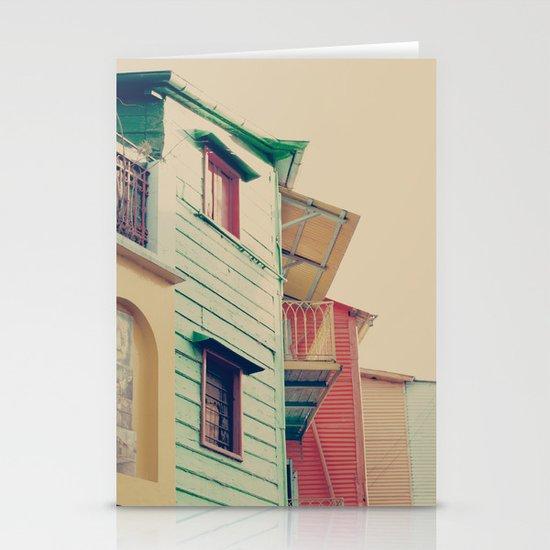 Pastel Caminito  Stationery Cards