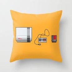 #38 Nintendo Entertainment System Throw Pillow