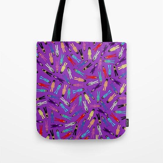Purple Pattern 2 Tote Bag