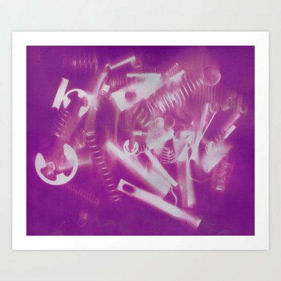 Mechanical Christmas Art Print