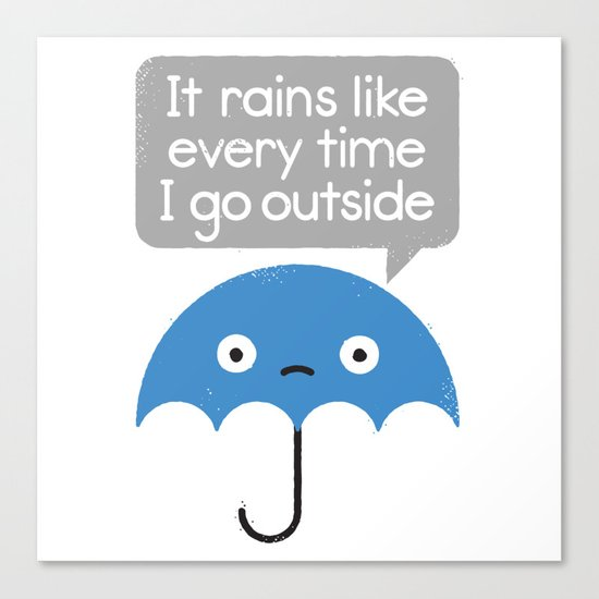 Umbrellativity Canvas Print
