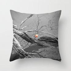 Left Hanging Throw Pillow