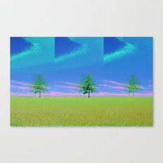 triple tree  Canvas Print