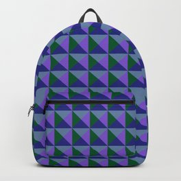 Abstract Triangle Pattern - Colorway #2 Backpack