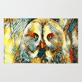 AnimalArt_Owl_20170602_by_JAMColorsSpecial Rug